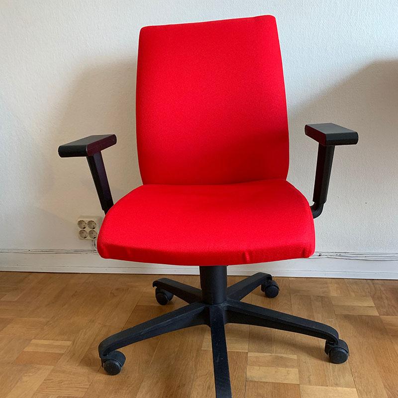 Kontorsstol Taktik Röd
