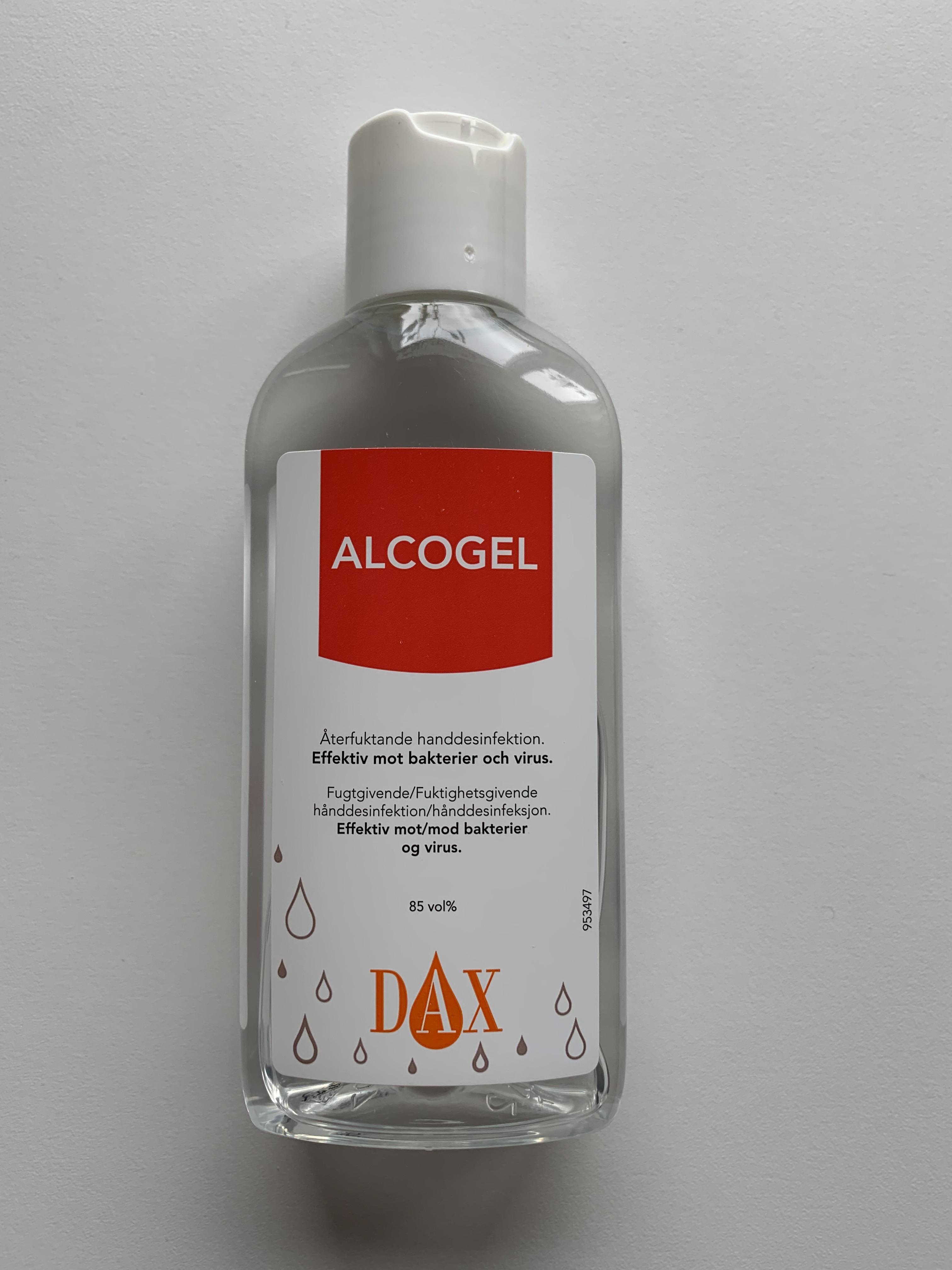 Handdesinfektion Dax Alcogel 85 150ml Kontorsredo Se
