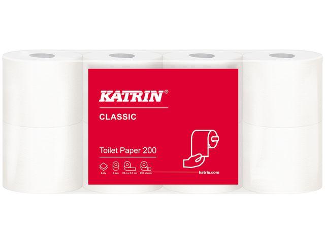 Allt För Kontor Toalettpapper KATRIN Classic 200