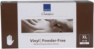 Handske vinyl puderfri XL