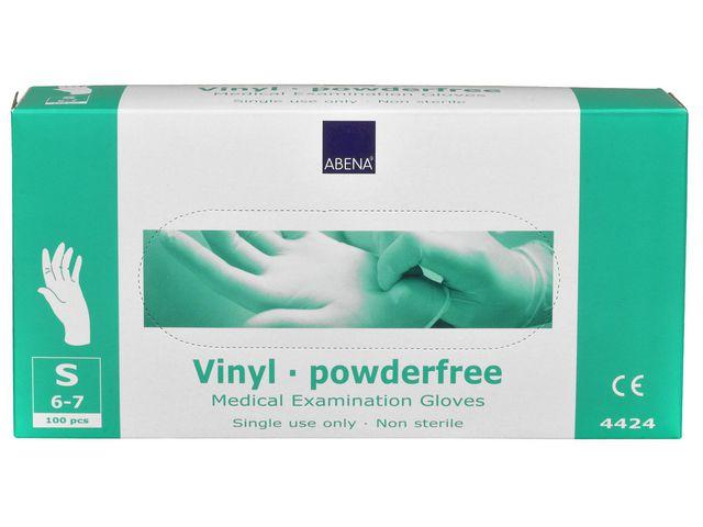 Handske vinyl puderfri S