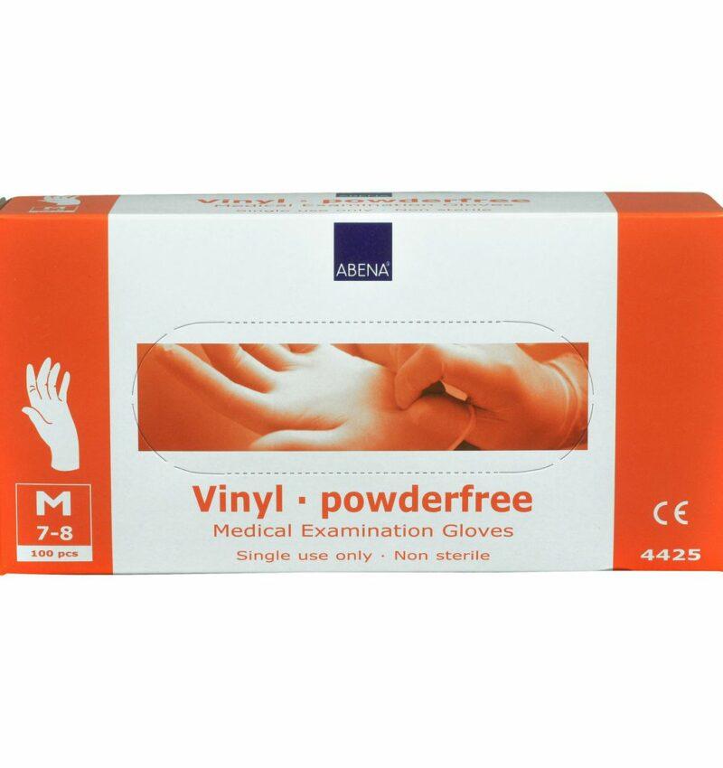 image-1 Handske vinyl puderfri M