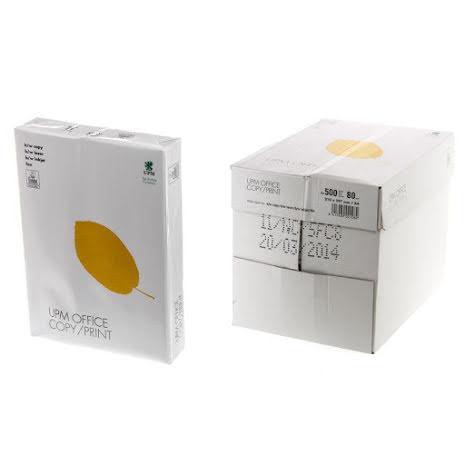 UPM Office Kopieringspapper A4 80g hålat
